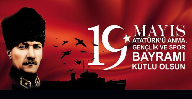 19 Mayıs Atatürk'ü Anma Gençlik Ve Spor Bayramı Mesajları Sözleri